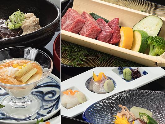 夏メニュー「佐賀牛ステーキ付会席プラン」