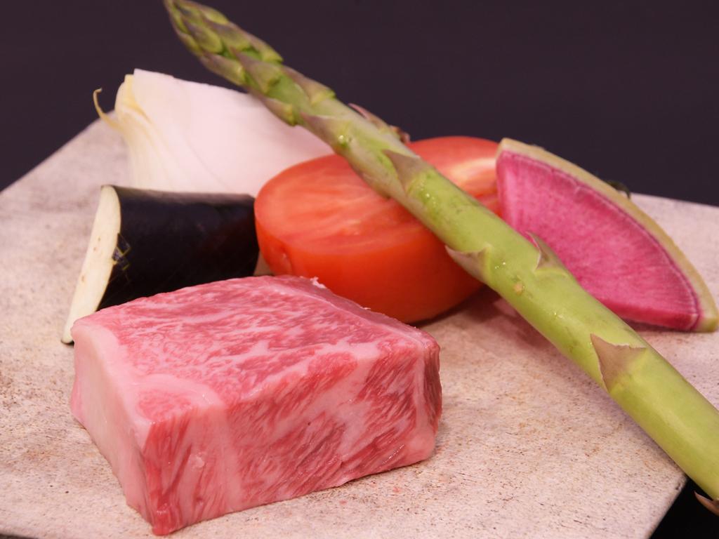 鉄板焼と湯豆腐ランチ(ロース)