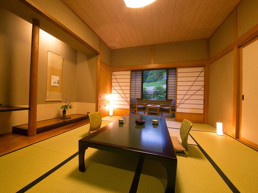 ◆バス付き和室(10〜12帖)‐白木館客室‐◆