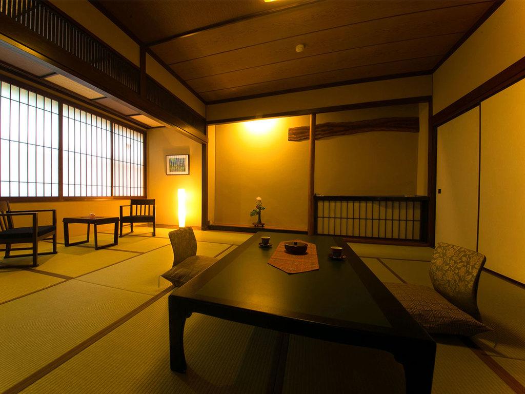 ◆バスなし和室(8〜14帖)バリアフリー対応◆‐脇田館客室‐