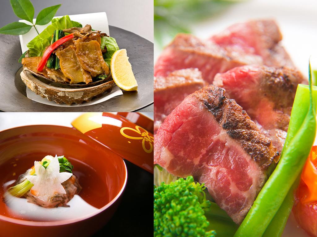 """◆厳選した""""旬の食材""""と当館料理長の""""技""""の競演◆"""