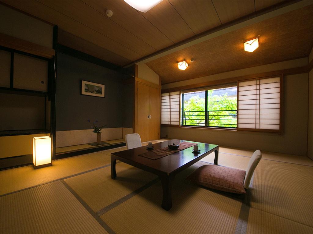 ◆バスなし和室(10〜15帖)‐湯原館客室‐◆