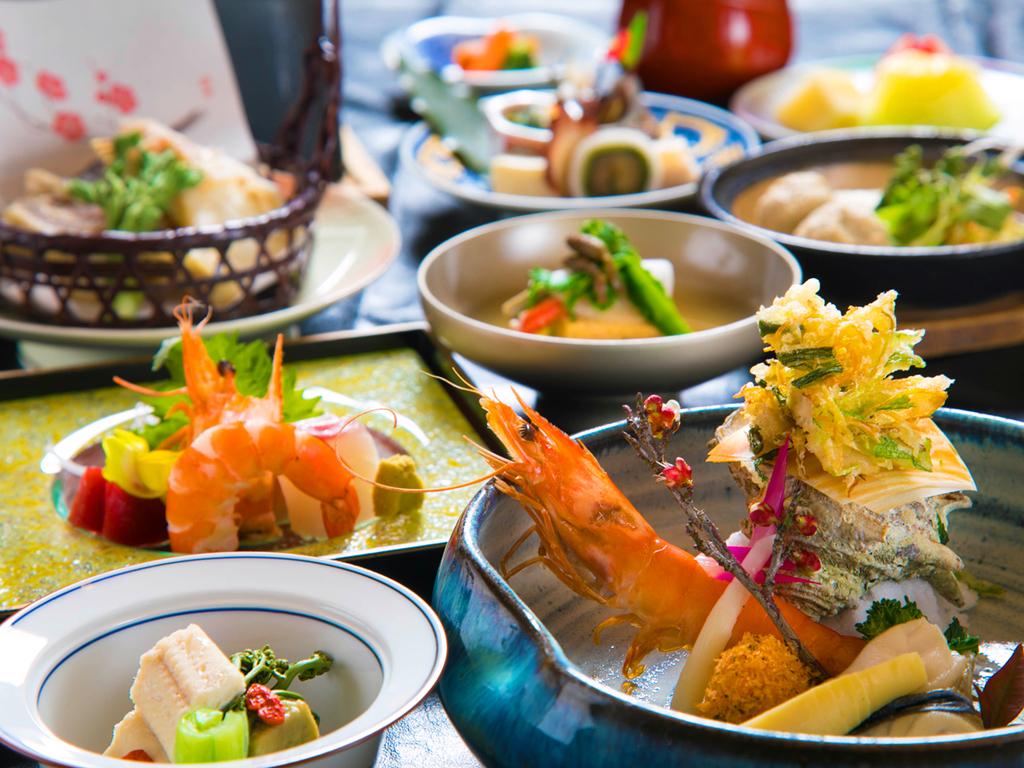 ◆料理グレードUP-メイン選べる-会席◆