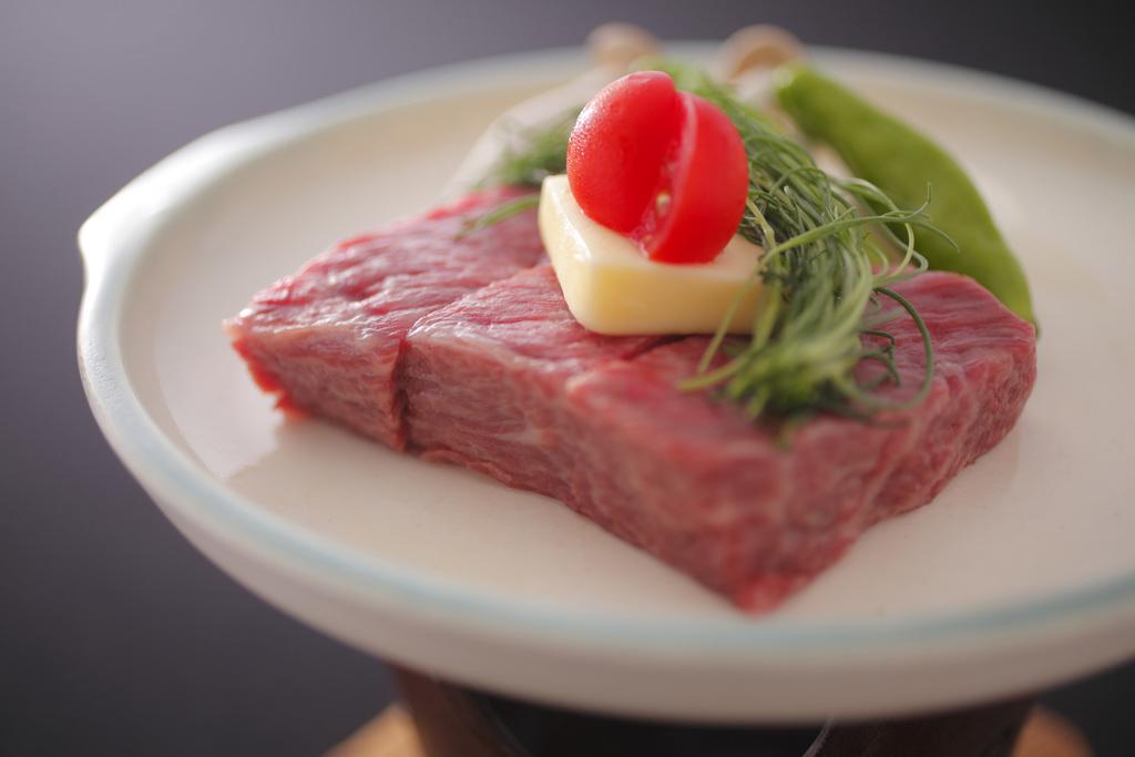 米沢牛ステーキ例