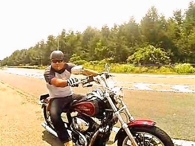バイクで温泉が流行ってます!