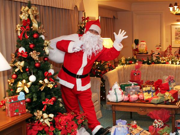 ◇サンタのデリバリーサービスイメージ(※この画像はクリスマスルームと異なります。)