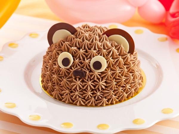 お子様バースデープラン「ハッピーベア」 (オリジナルチョコレートケーキ・フォトサービス付)イメージ