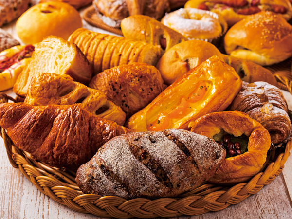 ホテルメイドのパン(イメージ)