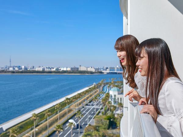 東京ベイエリアを望むコンフォートデラックスルーム