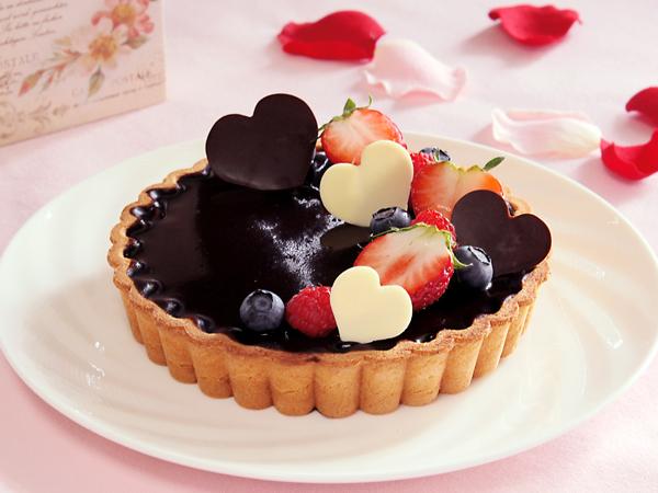 パティシエのハートがこもったチョコレートタルト (イメージ)