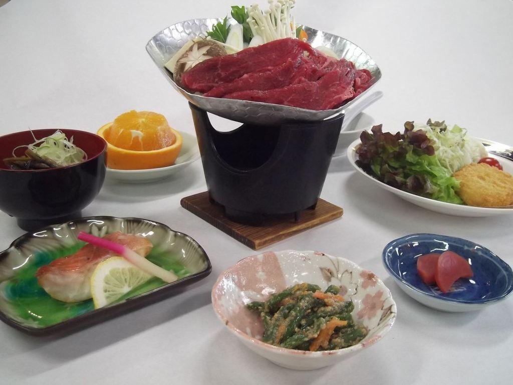 和牛すき焼き(一例)