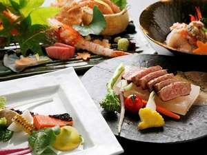 「翠山亭倶楽部定山渓」のある日のお料理一例。