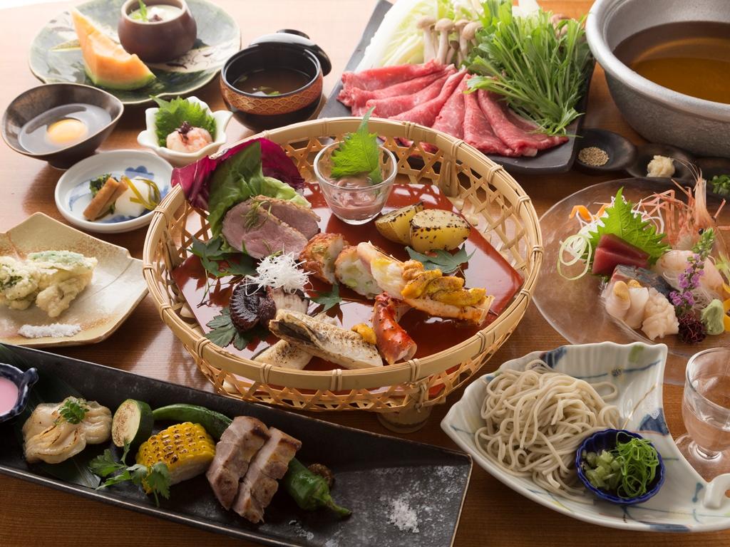 炭火食事処「桑乃木」のお料理一例