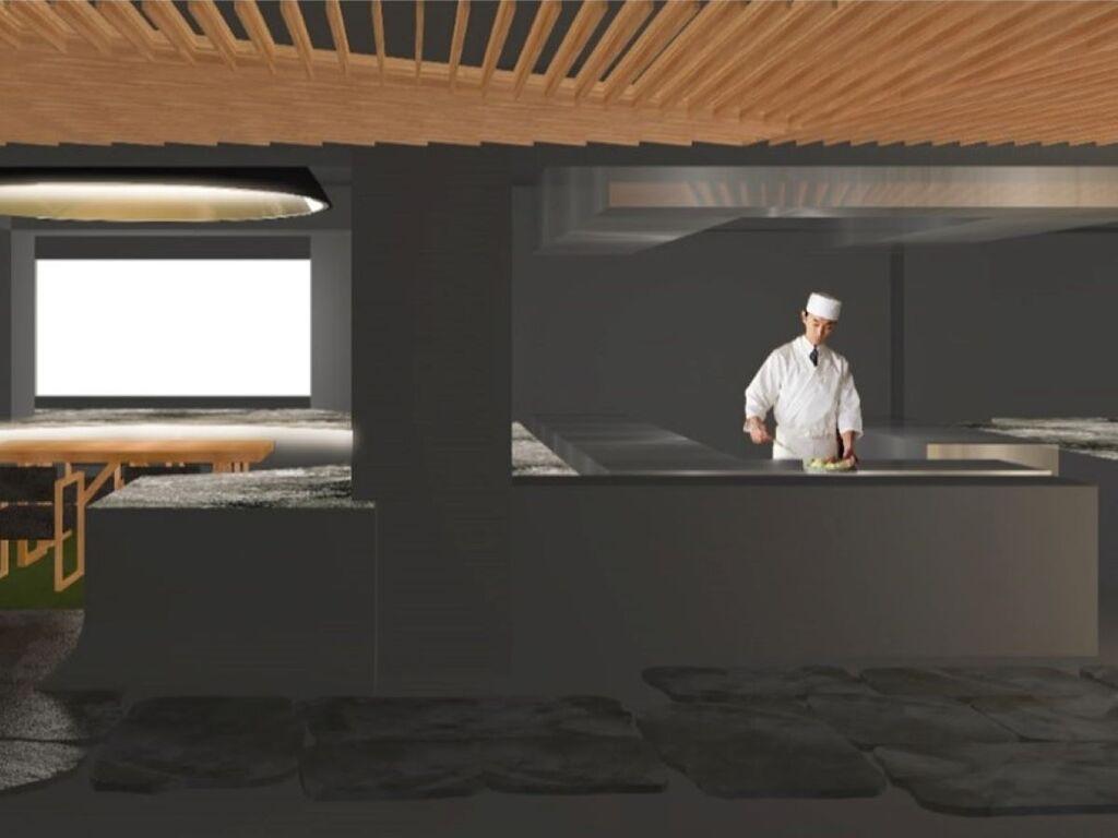 新たな食事処は全7卓のみ。「食」を愉しむ特別な空間です(写真はイメージです)。