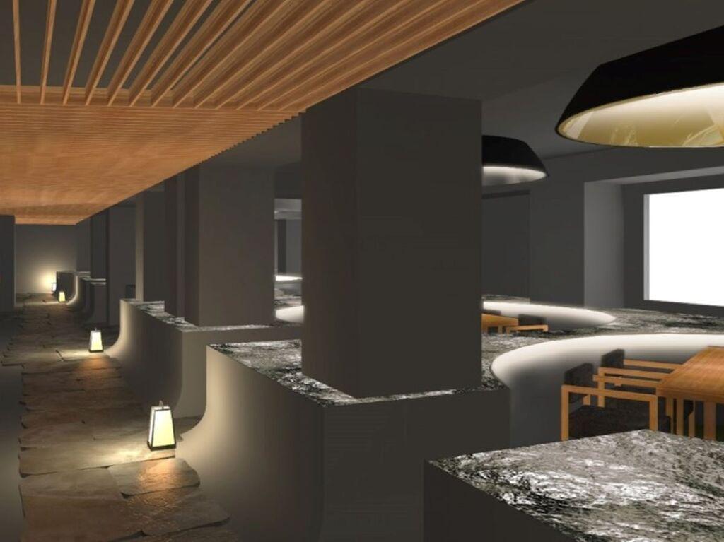 特別お食事処「湯相七席」。プライベートに配慮した新たな食空間です(写真はイメージです)。