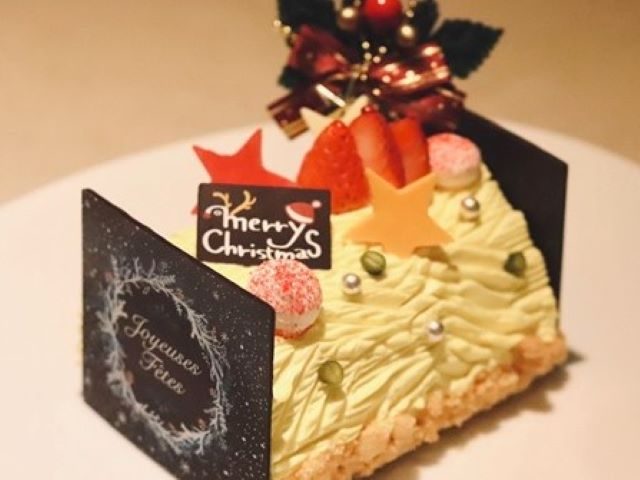 Xmasを彩る「坂ノ上の最中」の特製ケーキ付プランです(デコレーションが変更になる場合がございます)。