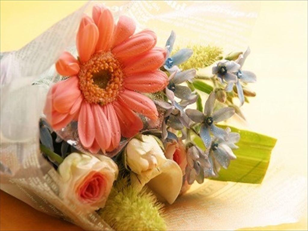 「いつもありがとう」の気持ちを込めて可愛いお花をプレゼント(写真はイメージです)