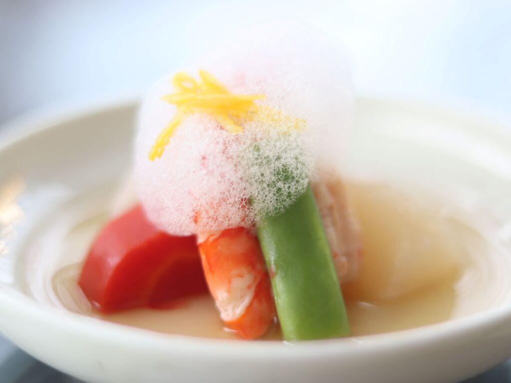 身体にやさしい食材を、身体にやさしい味付けで(写真はある日のお料理一例です)。