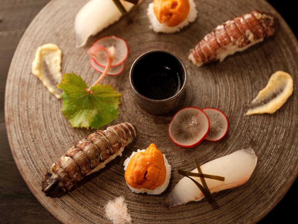 「厨翠山」のある日のお料理一例。