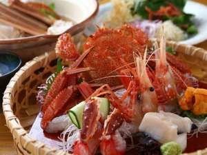 新鮮な蟹を様々なお料理でお召し上がりください(写真はイメージです)