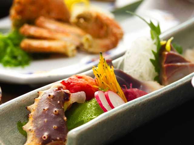 新鮮な蟹を様々なお料理で心ゆくまでお愉しみくださいませ(写真はイメージです)。