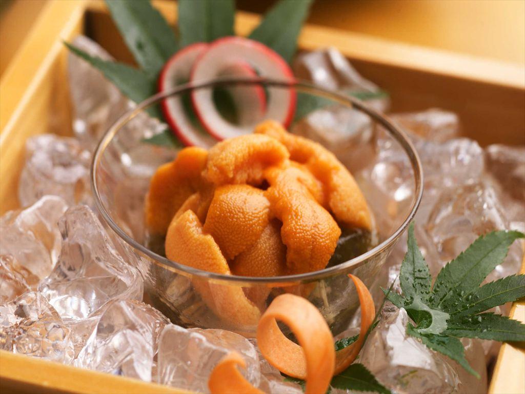 新鮮な雲丹は濃厚な甘みと、とろっとした食感がたまらない一品です(写真はイメージです)。
