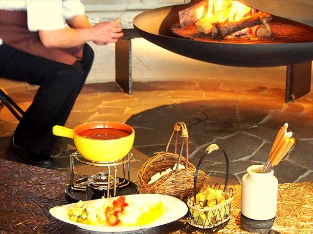 12月は毎日がクリスマス♪暖炉でショコラフィーカ