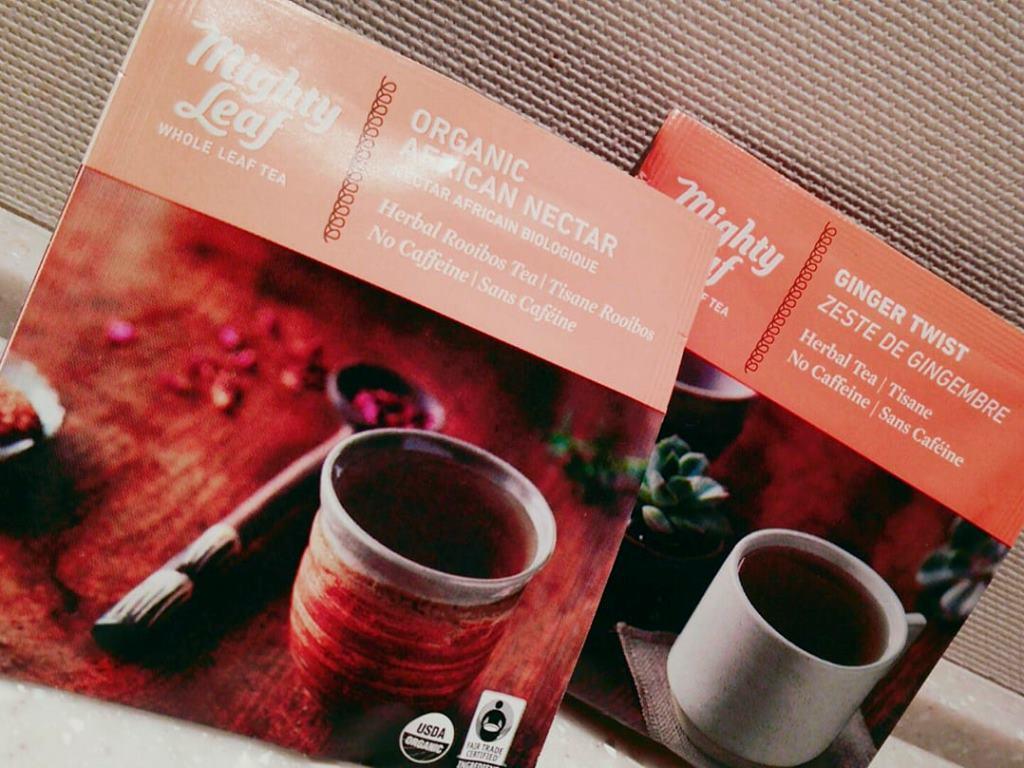 ご滞在のひとときに「マイティリーフ」の紅茶でほっとひと息(写真はイメージです)。