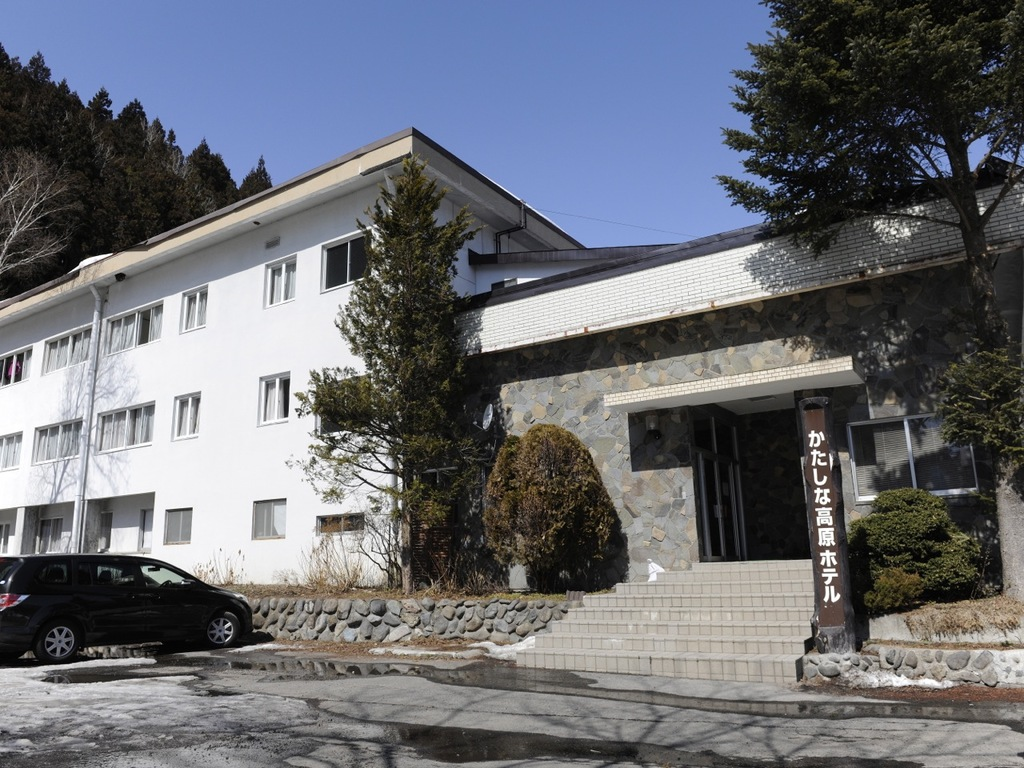 かたしな高原ホテルでの宿泊となります。