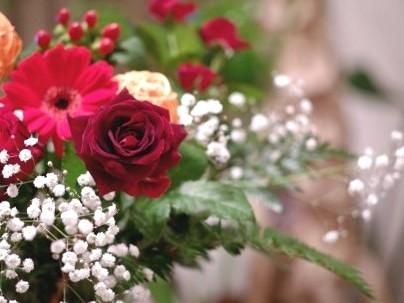 【Anniversaryプラン】花束イメージ
