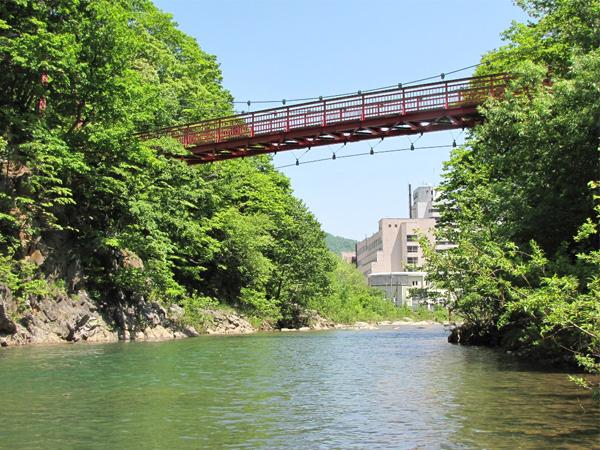 【周辺観光】〜夏〜新緑の二見吊橋