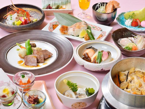 【美泉遊膳】季節をうつす和食膳<3〜4月> 〜春薫る膳〜