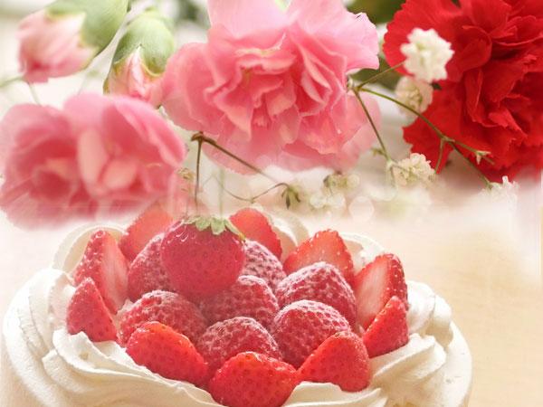 メッセージを添えて・・・ケーキor花束のサプライズプレゼント♪
