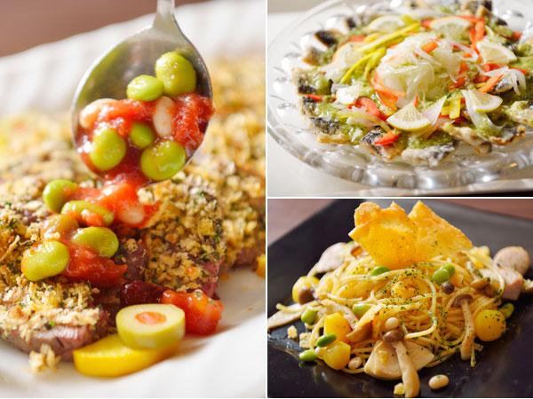 秋は栄養たっぷりの豆をふんだんに使用した「北海道お豆フェア」♪
