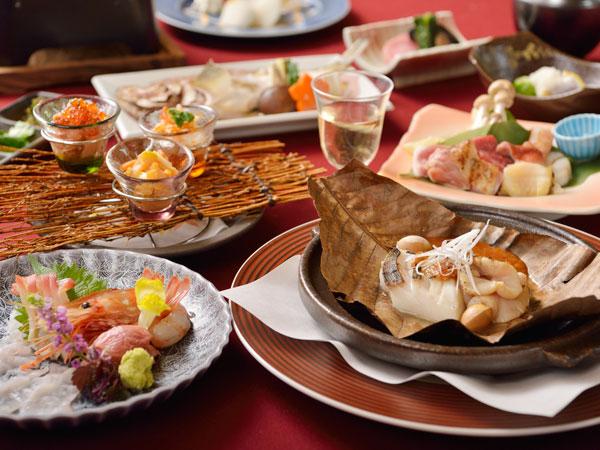 冬の特別膳【11-12月】北海道の冬の贅尽くし【北海道冬宝膳】