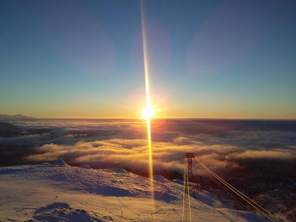 旭岳ならではの幻想的な景色をお楽しみください