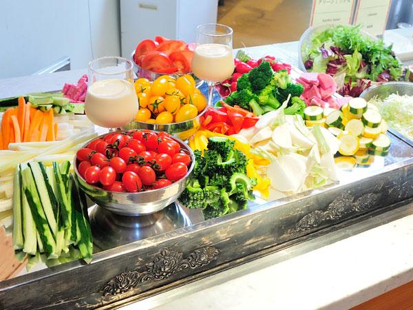 大雪山旭岳のふもとの地元野菜を中心とした料理を・・・