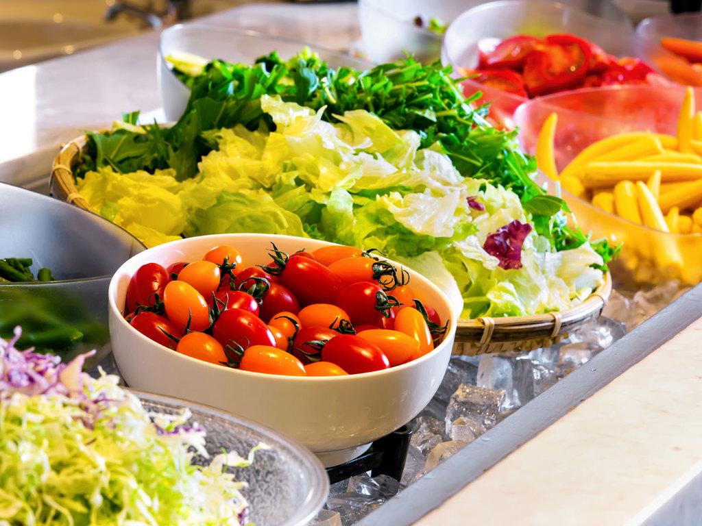 大雪山旭岳のふもとの地元野菜やグリル料理がおすすめ♪