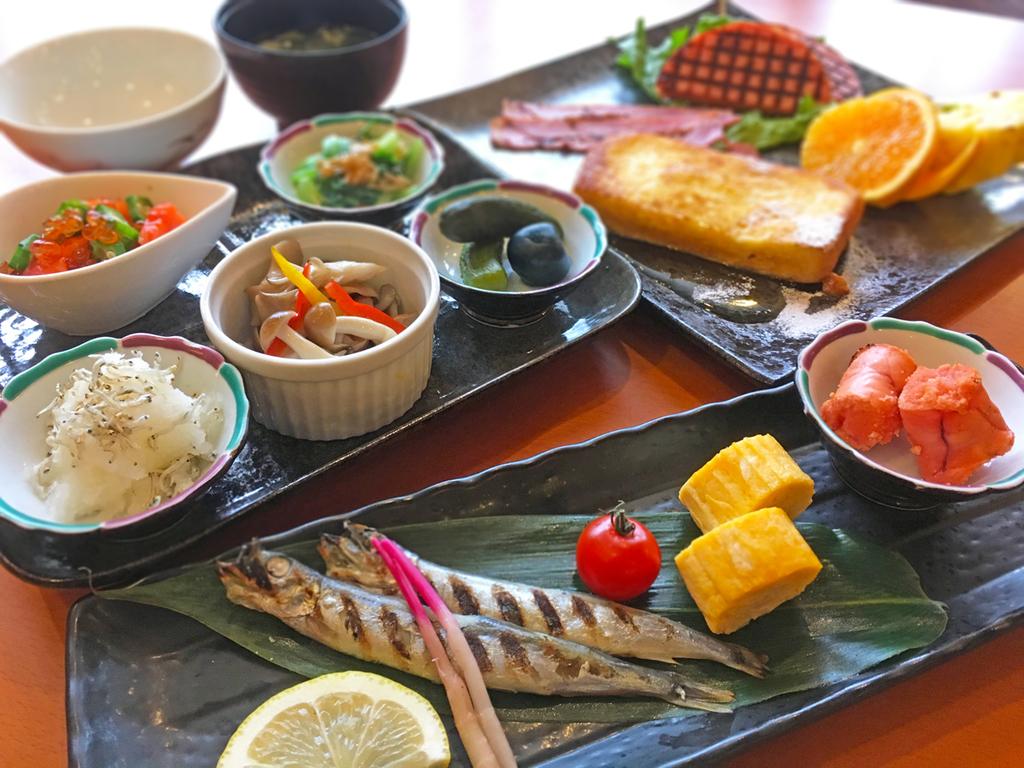≪朝食一例≫和食&洋食の両方が楽しめてボリューム満点!