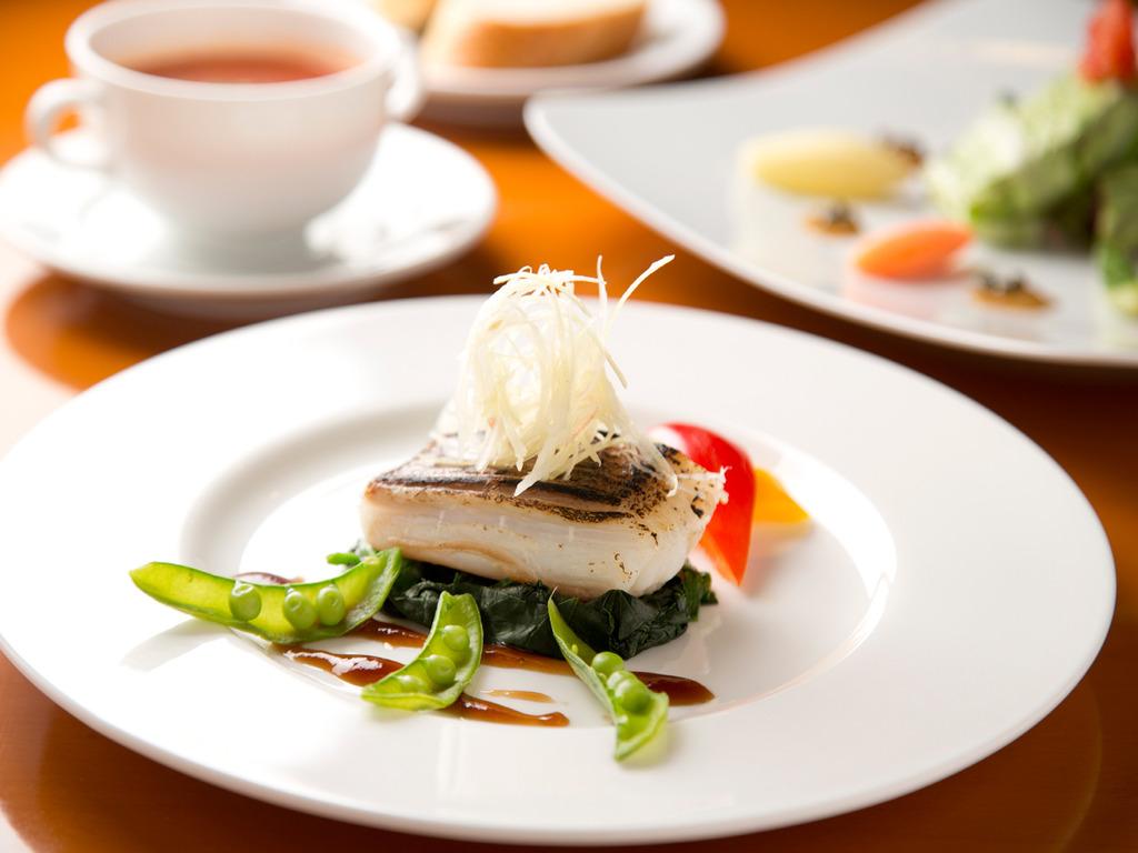 【夕食一例】カスベのムニエル
