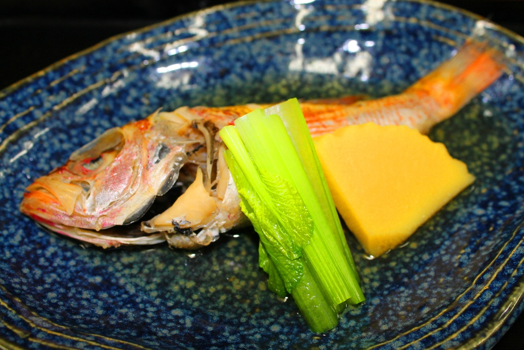 山陰高級魚のどぐろ煮付(料理一例)