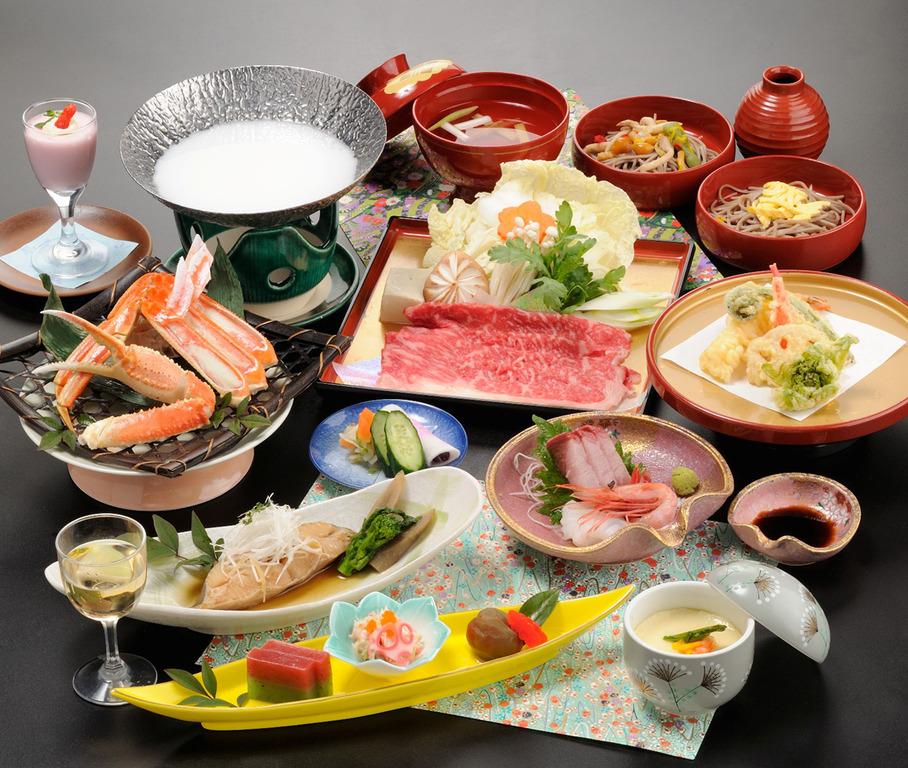 会席料理(一例)