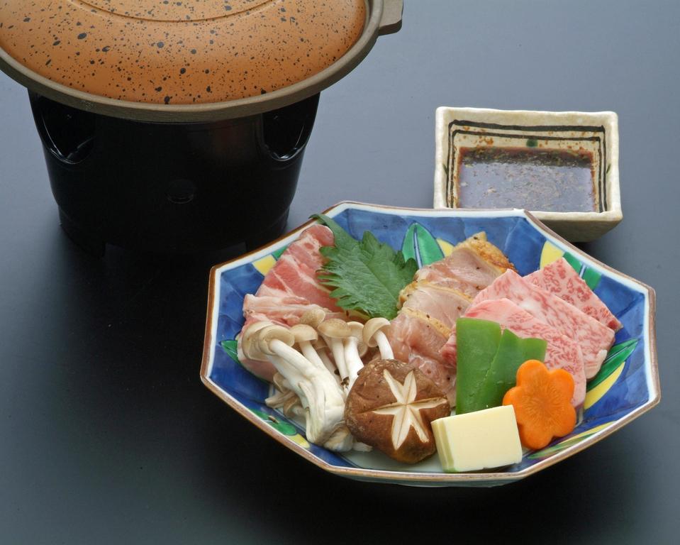 鳥取県の3種のお肉食べ比べ