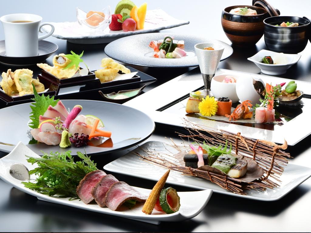 <お食事>「浜撫子会席」ゆっくりと流れる時の中、至福の味をご堪能ください。