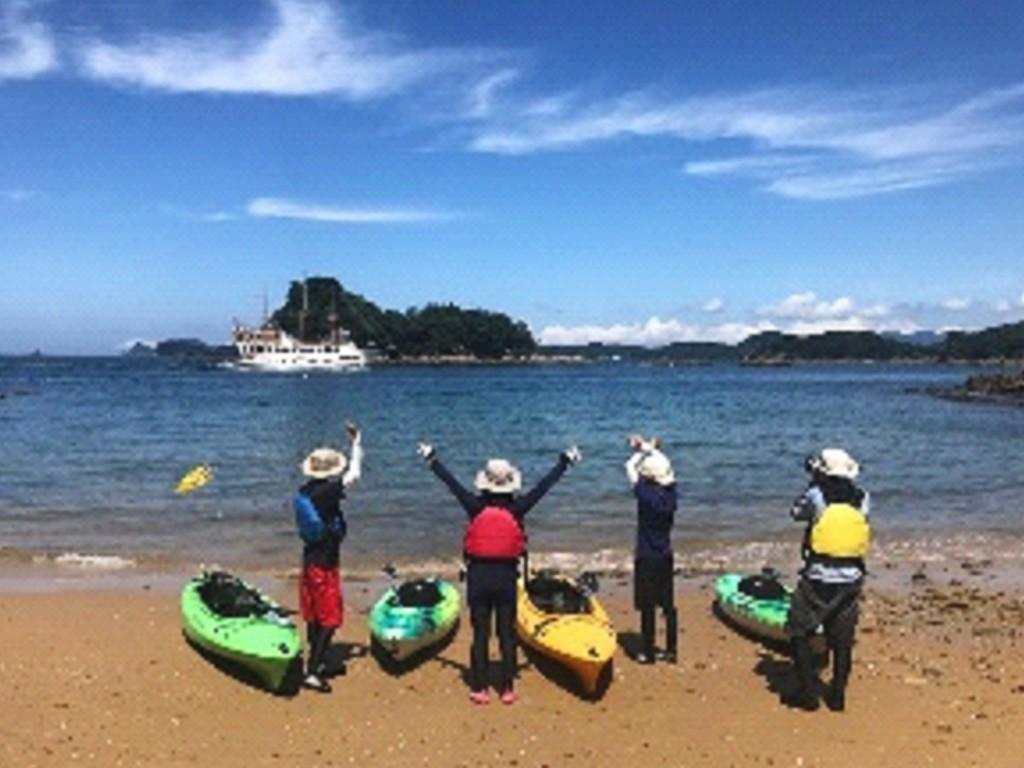 小さな船で大きな冒険へ!大自然九十九島の