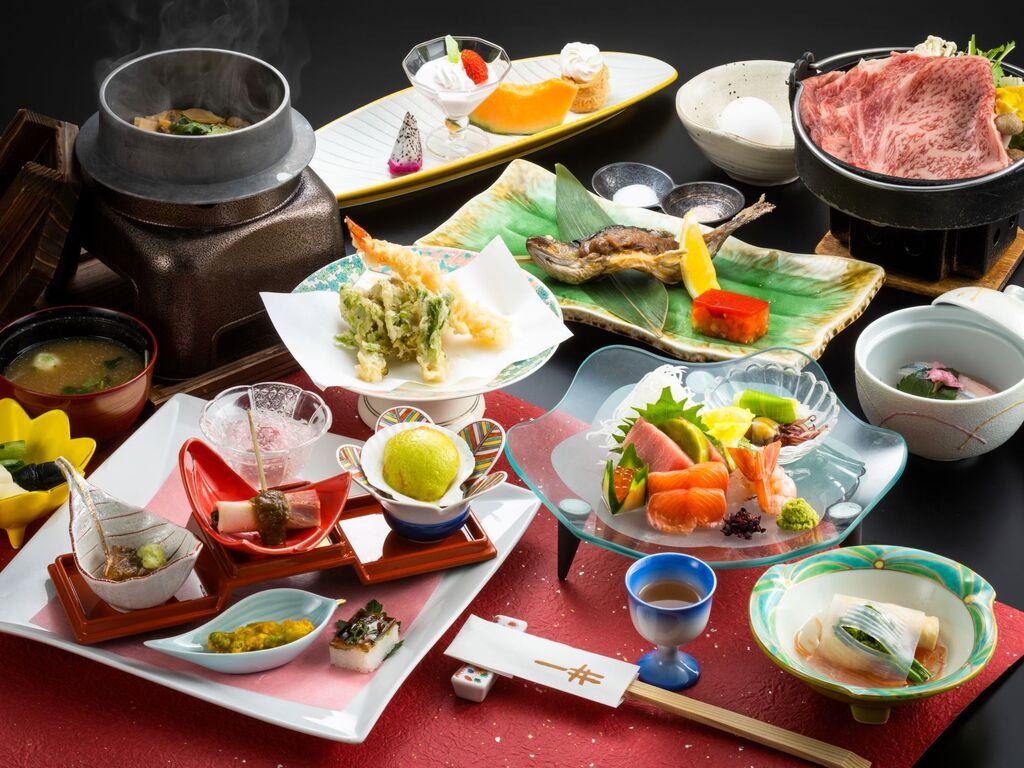 <お部屋でランクアップ和会席料理>ゆっくり贅沢にお部屋食を召し上がりたい方へ!