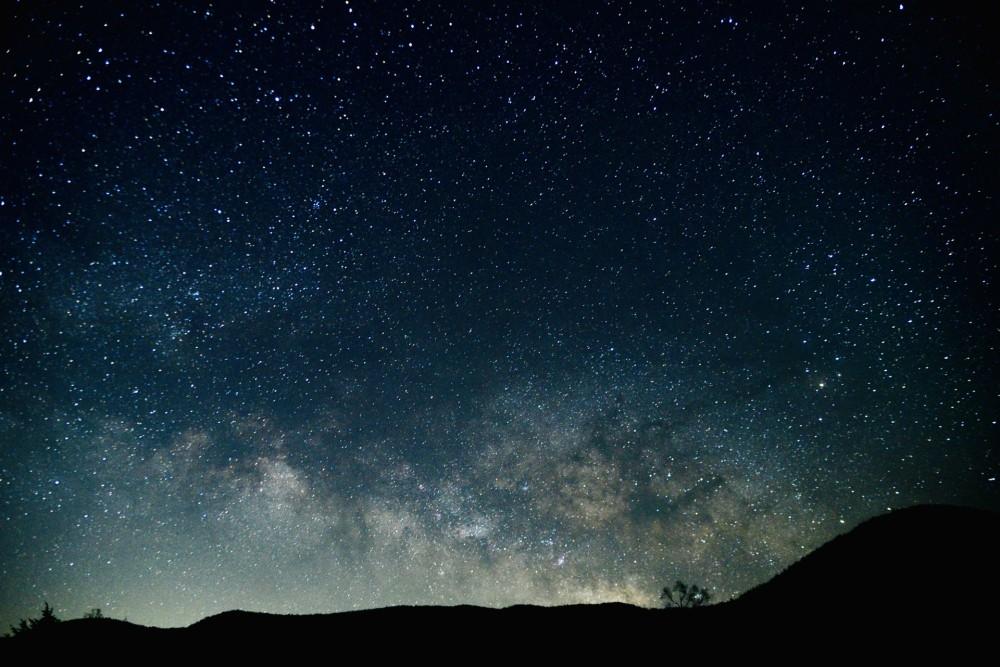 星取県!鳥取は星空も綺麗です。(写真はイメージです。)