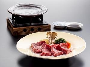 陶板焼きステーキ