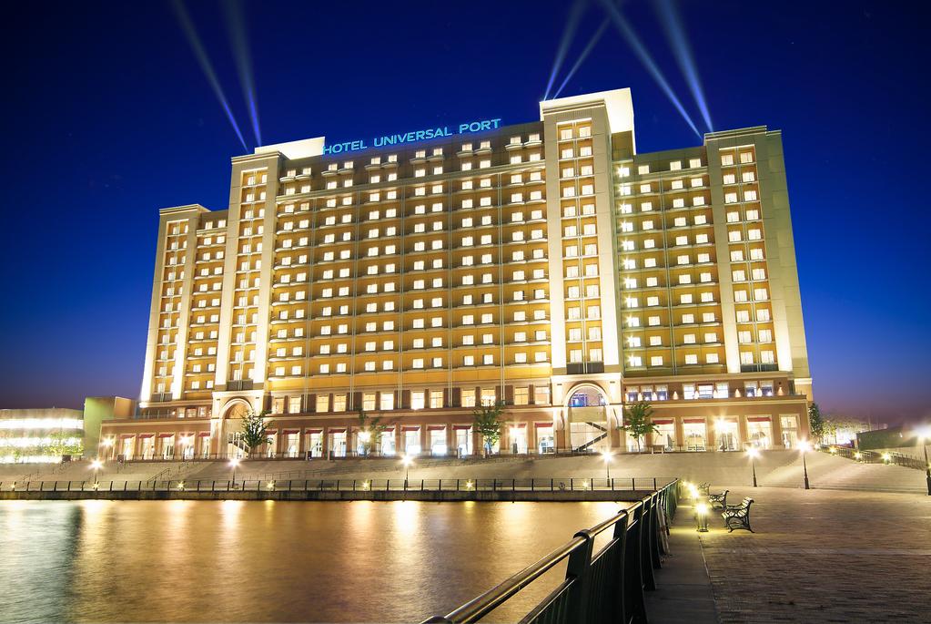 パークでの楽しい時間のはじまりは、USJオフィシャルホテルのホテル ユニバーサル ポートから。