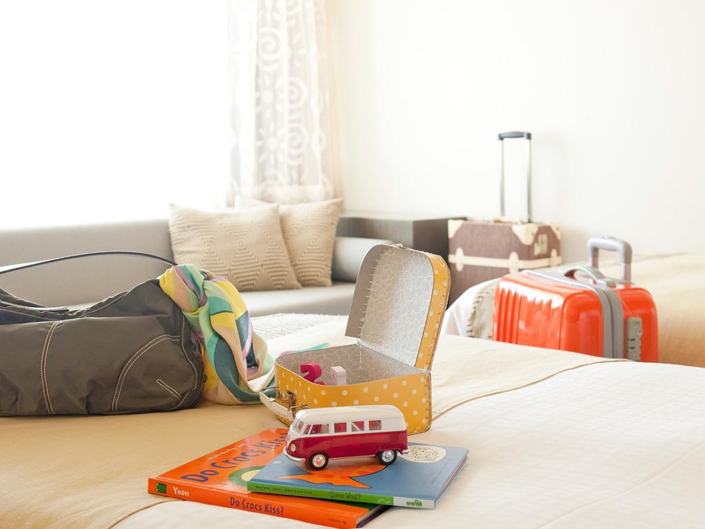 清潔な客室はくつろぎの時間をご提供します。 ※画像はイメージです。